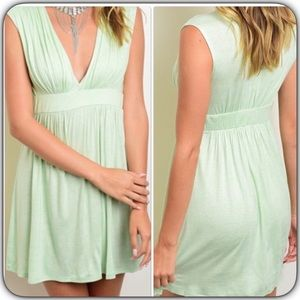 Dresses & Skirts - Sleeveless Jersey Dress Mint